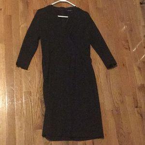 Lands' End Little Black Dress size 10T